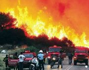 Wer hat die Brände gelegt? Ποιος εβαλε τις φωτιες;