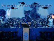 Von Kopf bis Fuß auf Kriege eingestellt!