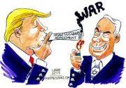 Donald Trump will die Welt in einen Weltkrieg stürzen