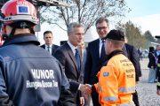 Der NATO-Generalsekretär Jens Stoltenberg besuchte Serbien