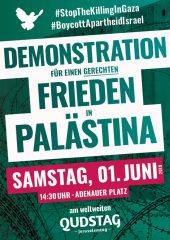 Aufruf zur Demonstration am internationalen Qudstag 2019