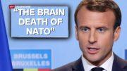 """Herr Emmanuel Macron, ist nun die NATO in BRÜSSEL """"Hirntod""""?"""