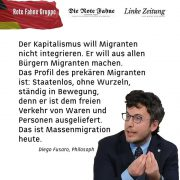 Die KKE zur Flüchtlingsfrage