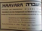 Das Haawara-Abkommen