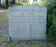 Die Gedenkstätten für Judah Benjamin